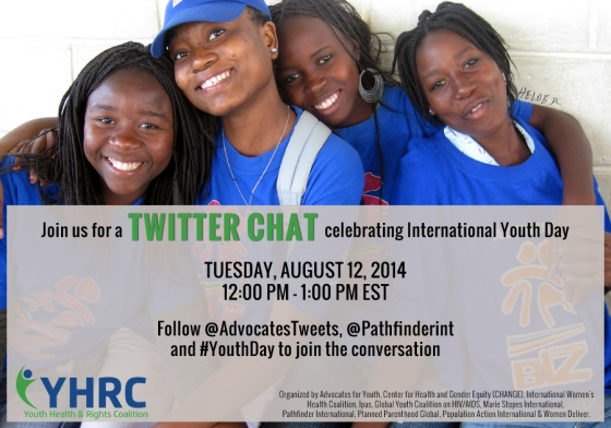 Youth Day Twitter Chat Invite